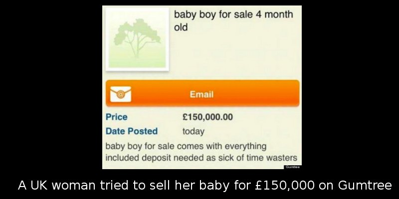 source: The Gumtree advert