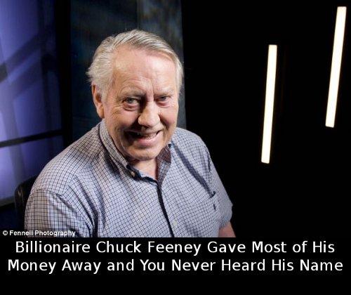 billionaire chuck feeney
