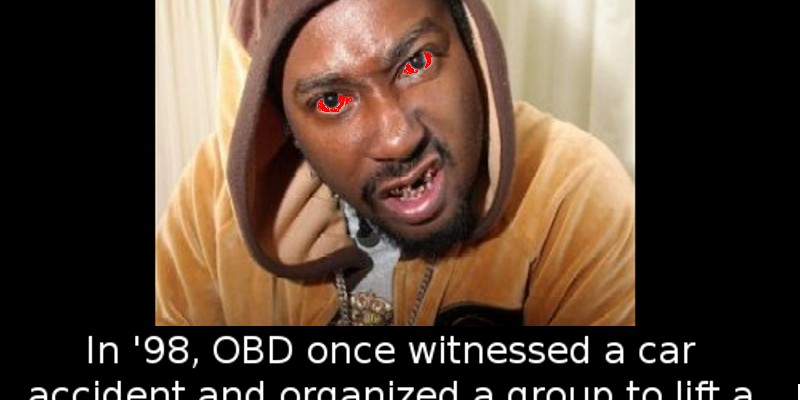 Ol_Dirty_Bastard1 did you know that rapper o d b from wu tang clan once witnessed a