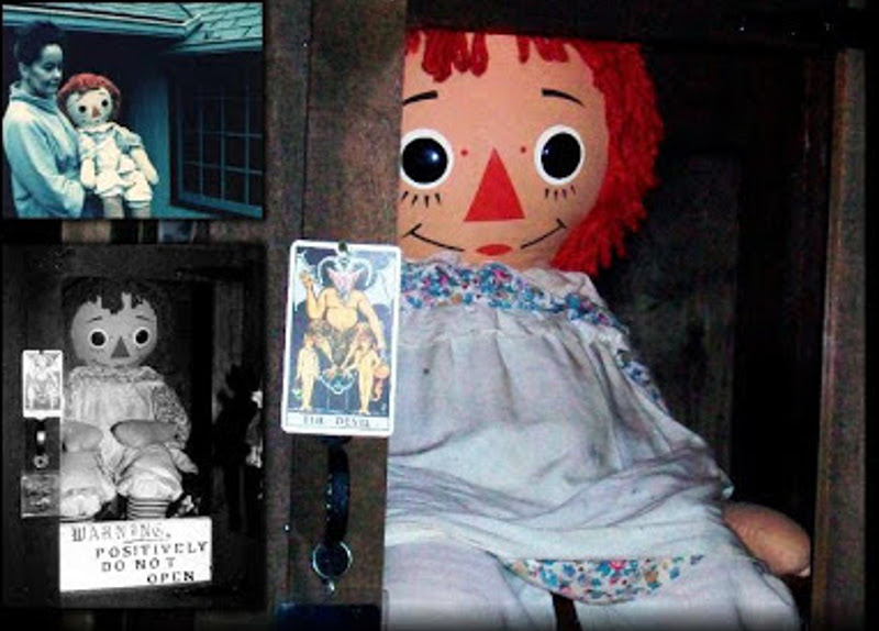 Matrimonio Warren : Annabelle the haunted doll came into hands of
