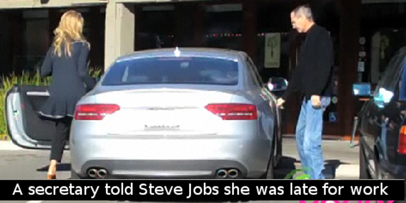 A Secretary Told Steve Jobs She Was Late For Work Because Her Car - Audi car jobs