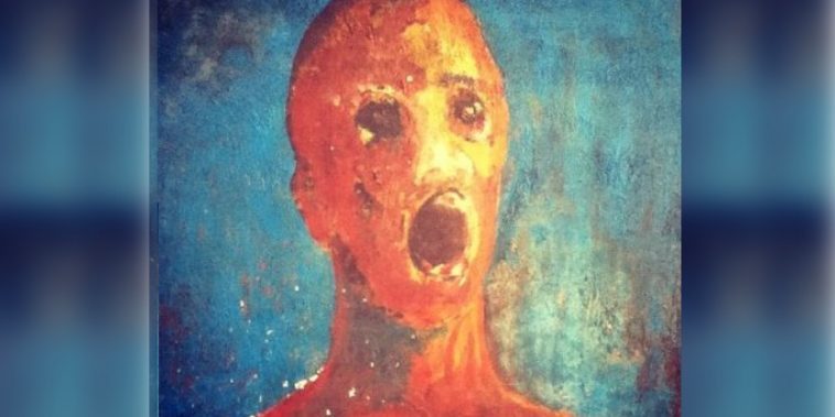 A Haunted Painting Called 'The Anguished Man' Is Said To ...