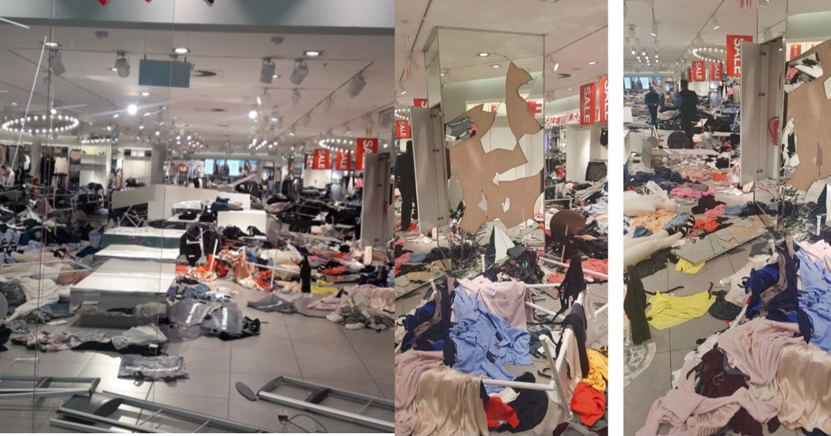 Protestors Trashed H&M Store In South Africa, Because Of The 'Racist' Hoodie Advert