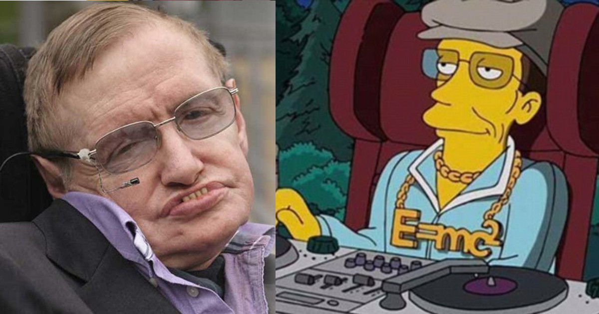 19 Years Ago The Simpsons Predicted Stephen Hawking's Fate